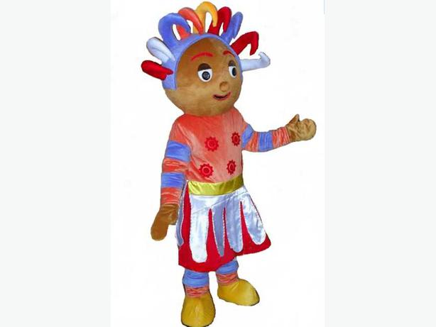 UPSY DAISY IGGLE PIGGLE NIGHT GARDEN ADULT FANCY DRESS MASCOT COSTUME HIRE 25