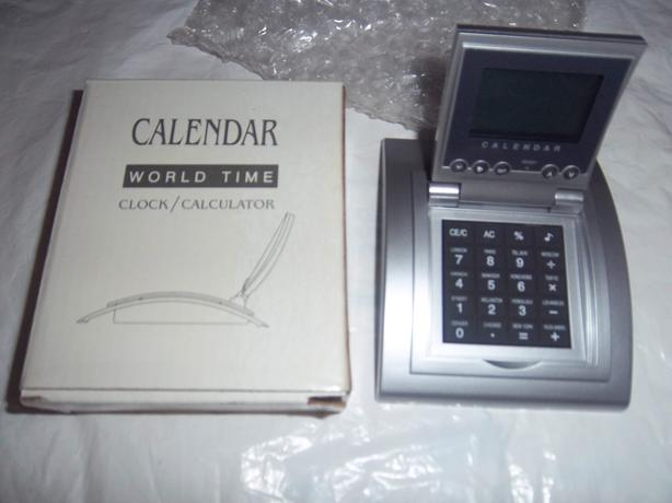 World Time Calendar Clock/Calculator