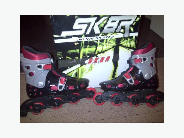 inline skates x2 pairs sizes 13-1 and 2-3