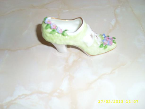 Bone China Shoe