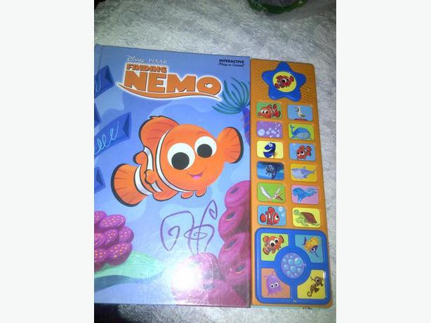 finding nemo musican book