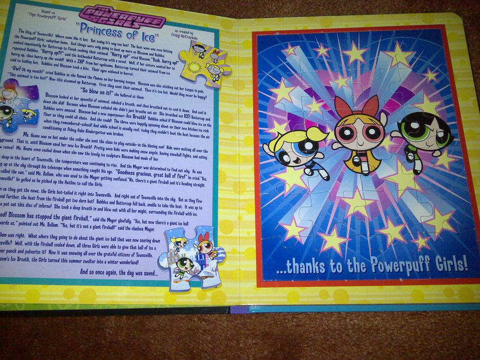 Cartoon Network 6 Puzzles Story Book 163 3 50 Bloxwich Dudley
