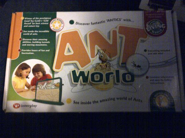 educational ant and worm world £6each or both for £10