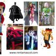 £25 Mario Luigi Ben10 Buzz Lightyear adult mascot fancy dress costume hire
