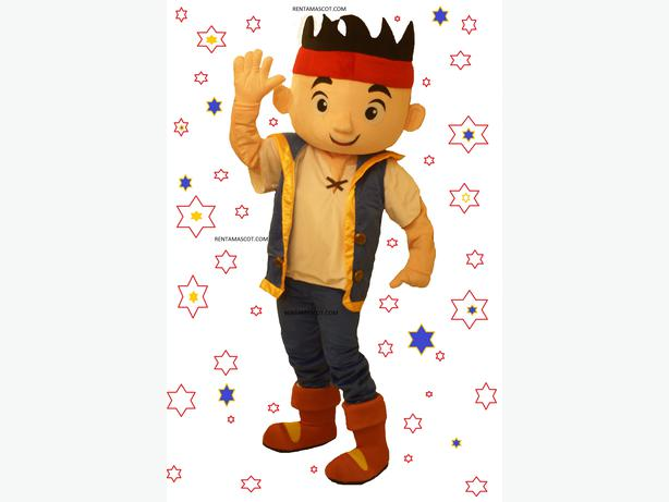 £35 Jake and the Neverland Pirates Disney Adult mascot fancy dress costume hire