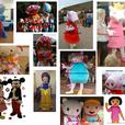 Mickey Minnie Mouse Goofy Mascot costume adult fancy dress hire