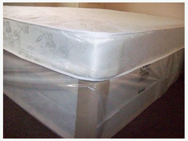 Luxury 2 drawer double divan bed other dudley for Double divan bed base with drawers