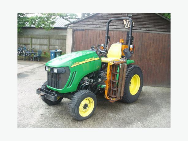 John Deere Garden Tractors 4x4 : John deere tractor lawn mower compact bilston dudley