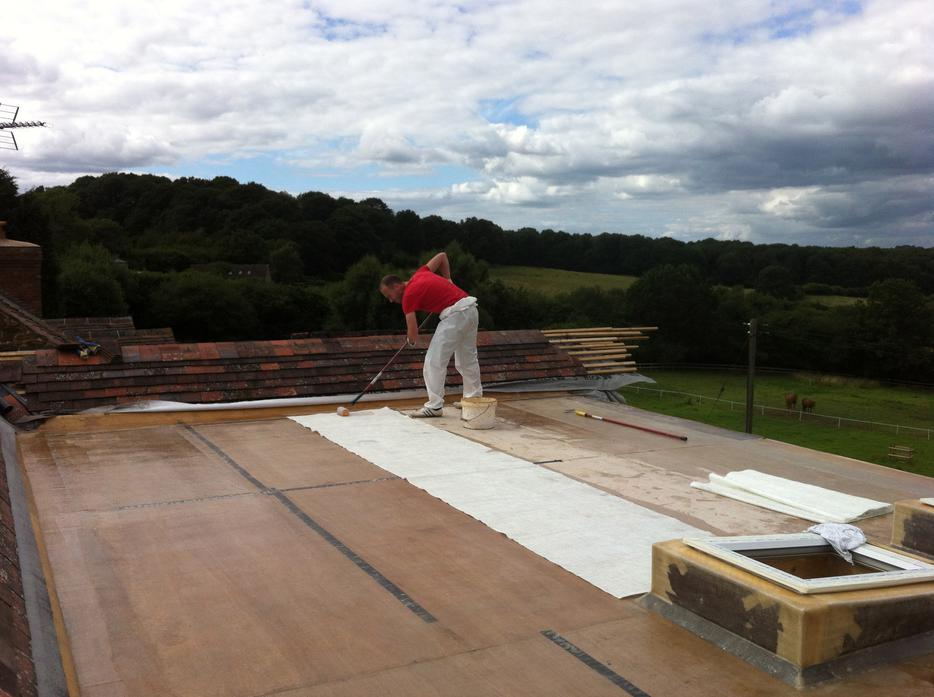 Fibreglass Flat Roofing And Pond Lining Dudley Walsall
