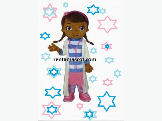 £25 HIRE DOC MC STUFFINS ADULT MASCOT FANCY DRESS OUTFIT COSTUME PARTY