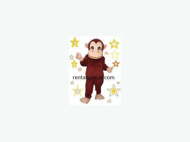 £25 HIRE CURIOUS GEORGE MONKEY ADULT MASCOT FANCY DRESS OUTFIT COSTUME PARTY