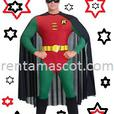 £25 HIRE BATMAN DARK KNIGHT ROBIN ADULT MASCOT FANCY DRESS COSTUME OUTFIT PARTY