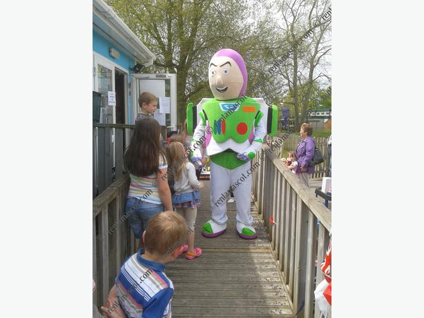 £25 HIRE DISNEY BUZZ LIGHTYEAR WOODY ADULT MASCOT FANCY DRESS OUTFIT COSTUME