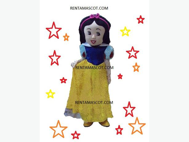£25 HIRE SNOW WHITE SNOWHITE ADULT MASCOT FANCY DRESS COSTUME OUTFIT PARTY