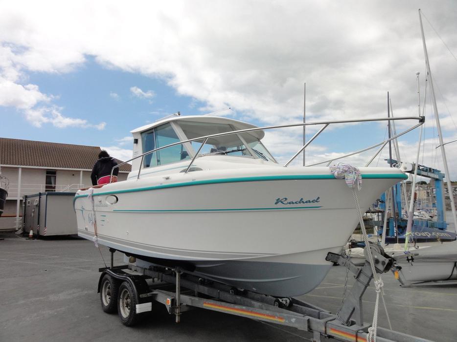 Ocqueteau 645 inboard 105hp volvo penta fishing boat for How inboard boat motors work