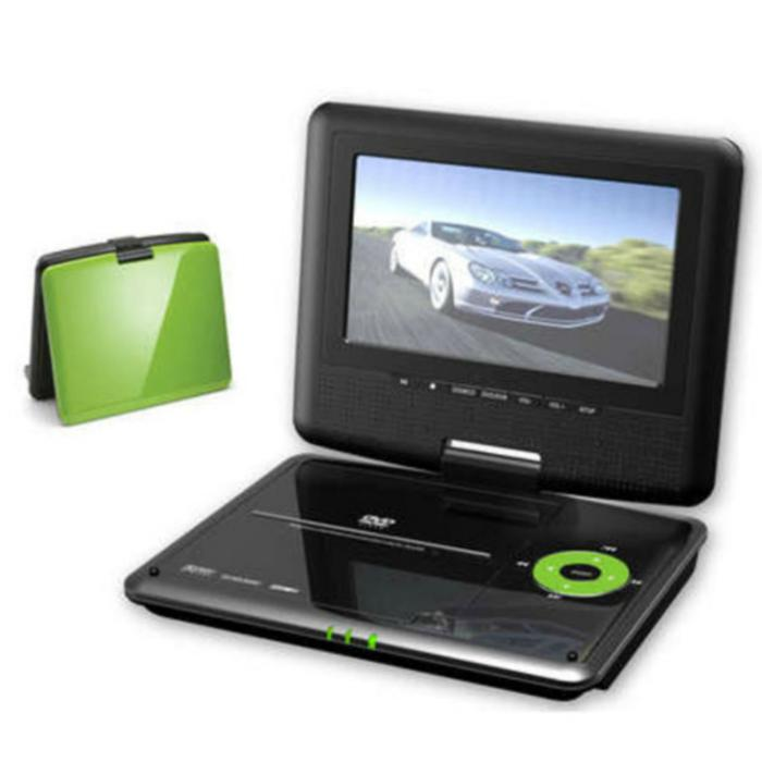 """Portable Tv With Freeview And Dvd Portable Toddler Travel Bed Portable Public Urinal Portable Satellite Tv Near Me: Akai DXP701DT 7"""" LED Portable DVD Player With TV Tuner"""