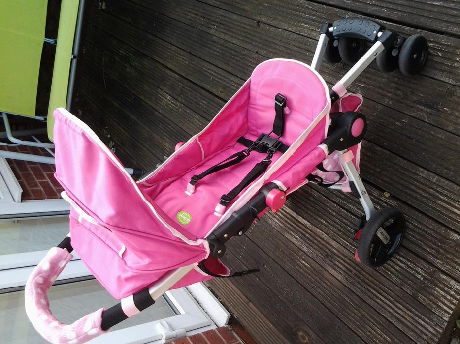 QUICKSMART VERY COMPACT STROLLER IN CARRY BAG, IDEAL 4 ...