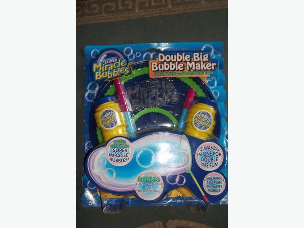 Double Big Bubble Maker
