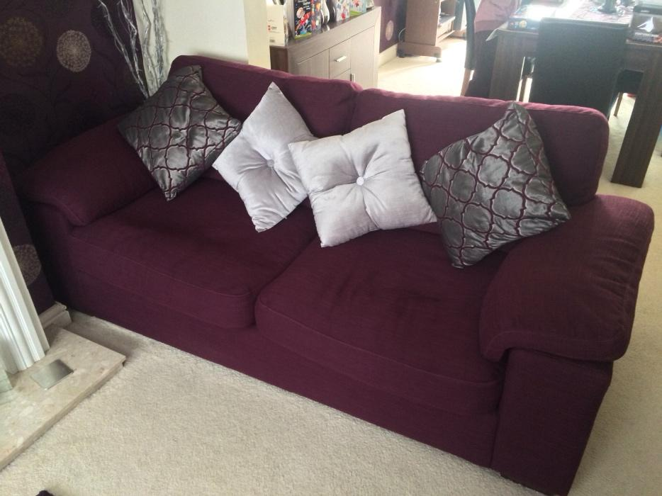 2x Large Luxury Sofas Willenhall Wolverhampton