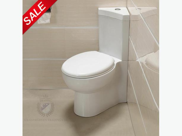 Corner Toilet : Corner Toilet Brand new Outside Black Country Region, Sandwell