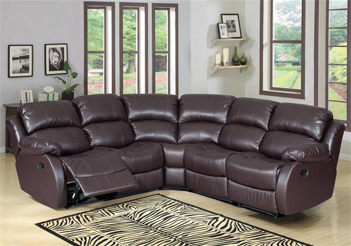 New valencia bonded leather recliner corner sofa - Sofas valencia alberic ...