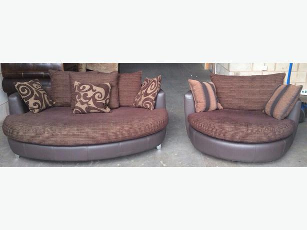... Swivel Cuddle Chairs Uk By Cuddler Sofa Set Images ...