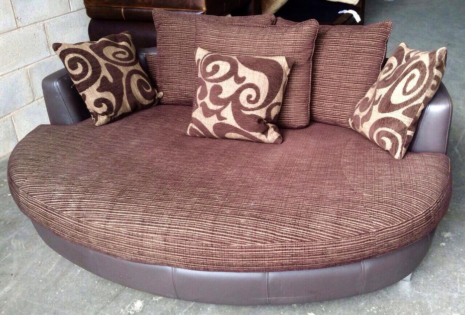 We Deliver Uk Dfs Swivel Cuddle Chair Amp Big Cuddler