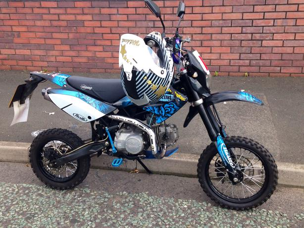 Ono Road Legal Stomp Pit Bike 13 Plate Tipton Dudley