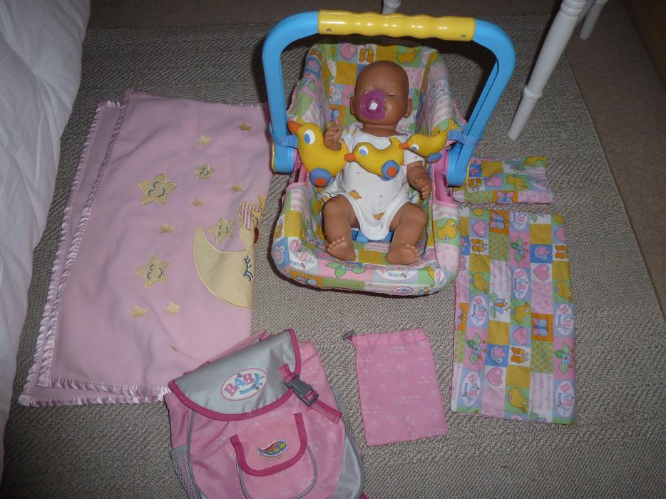 Baby Born Doll Car Seat Amp Accessories Kingswinford