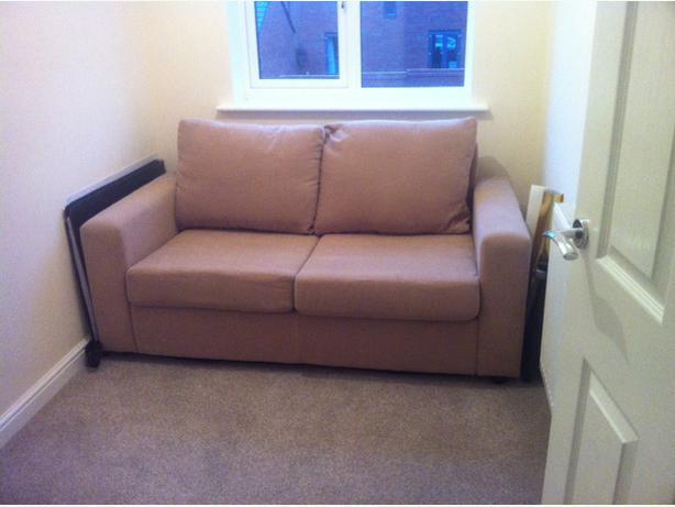 Som 39 Toile Sofa Bed Wolverhampton Wolverhampton