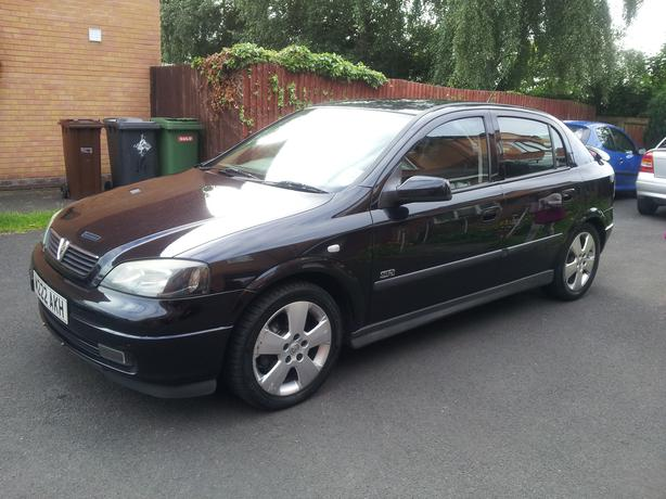 2003 vauxhall astra sri 2 0 dti black wolverhampton sandwell. Black Bedroom Furniture Sets. Home Design Ideas