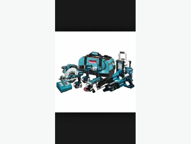 WANTED:  MAKITA LXT LITHUIM ION 18V TOOLS COMBI SET  - CASH WAITING