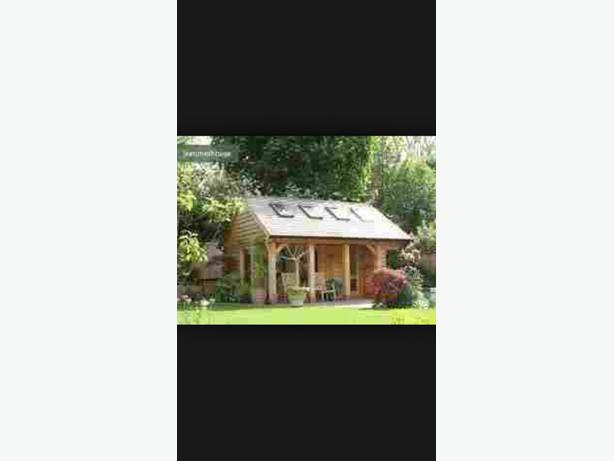 WANTED: GARDEN SUMMER HOUSE AND CHINEMEA -LOG CABIN - TOP QUALITY