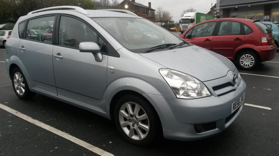 for sale toyota corola verso 7 seat 56 plate dudley  sandwell