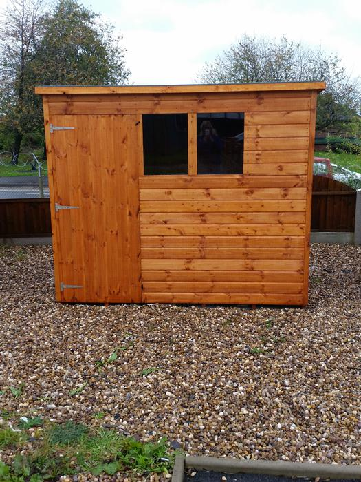 New 8x6 garden shed walsall wolverhampton for Garden shed 8x6