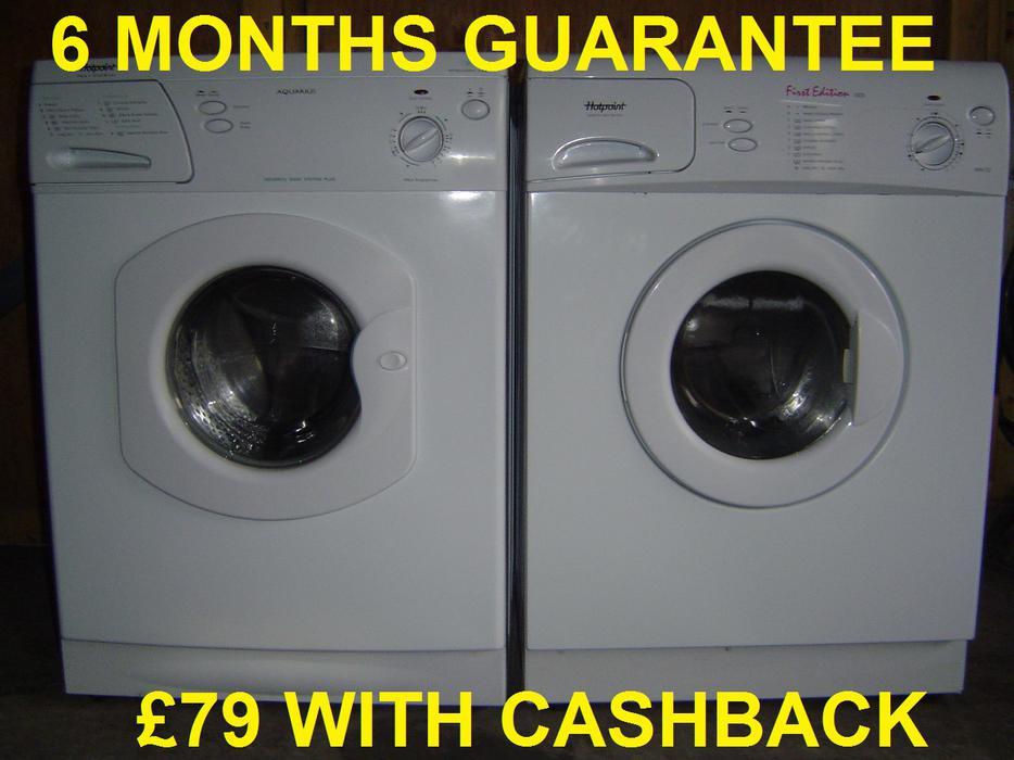 163 79 Hotpoint Washing Machines 6 Months Guarantee