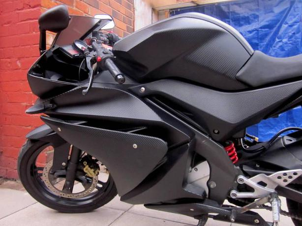 Vinyl Wrapping Specialist Panels Fairings Wrappped From 20