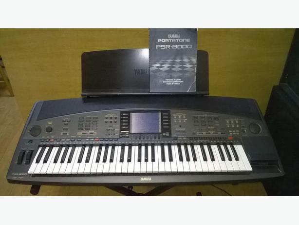yamaha psr 8000 professional keyboard arranger workstation. Black Bedroom Furniture Sets. Home Design Ideas
