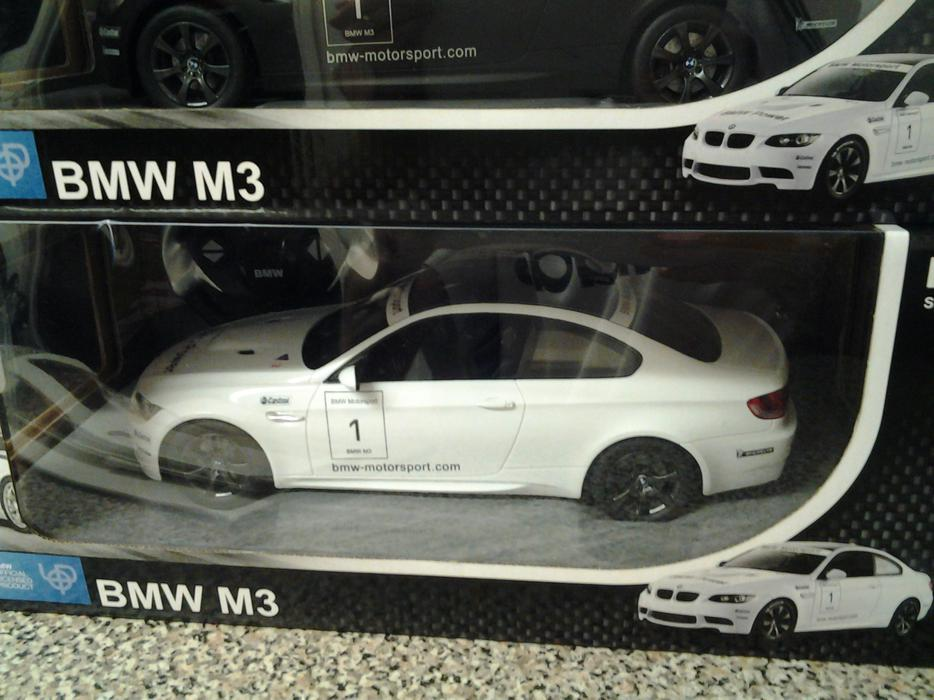 £30 · brand new unopened bmw remote control cars