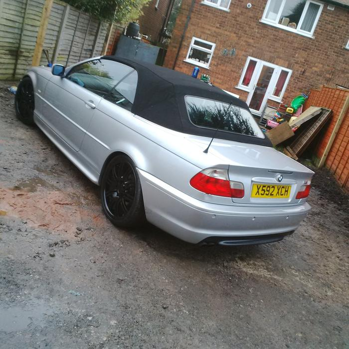 2001 BMW E46 325I CONVERTIBLE M-SPORT REP SWAP SALE PX WHY