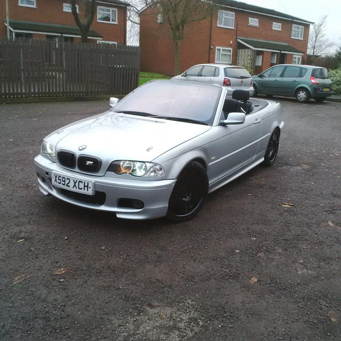 2001 bmw e46 325i convertible m sport rep swap sale px why west bromwich sandwell. Black Bedroom Furniture Sets. Home Design Ideas