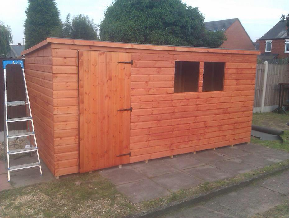 Quality garden sheds with free delivery and free fitting for Quality garden sheds