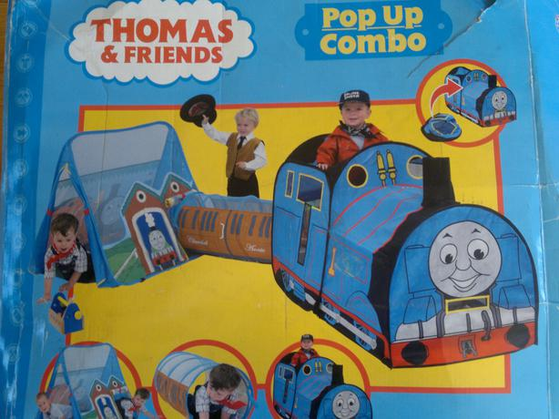 THOMAS THE TANK ENGINE THOMAS u0026 FRIENDS 3 IN 1 POP UP COMBO TRAIN TUNNEL u0026 & THOMAS THE TANK ENGINE THOMAS u0026amp; FRIENDS 3 IN 1 POP UP COMBO ...