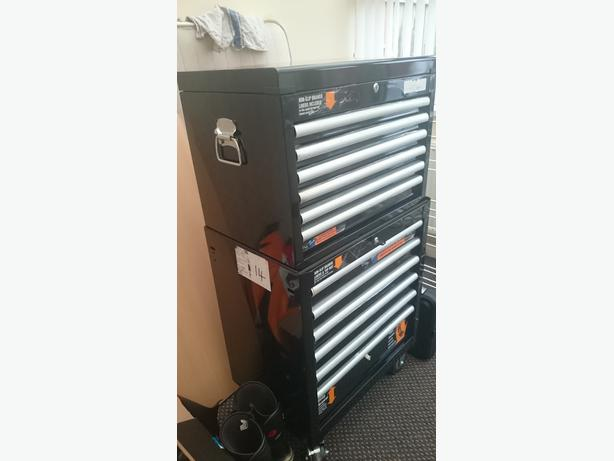 brand new halfords industrial 6 drawer ball bearing chest. Black Bedroom Furniture Sets. Home Design Ideas
