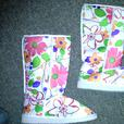 Floral BOOTS Brand New
