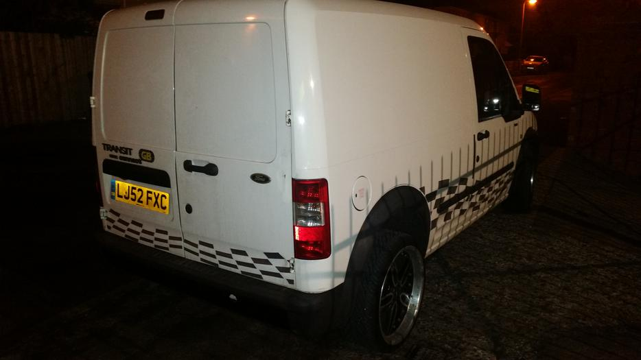 Ford transit connect with mods vgc drives as new nice work van wolverhampton sandwell - Ford garage wolverhampton ...