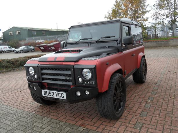 Land Rover Defender 90 County Td5 Red 2002 Rowley Regis