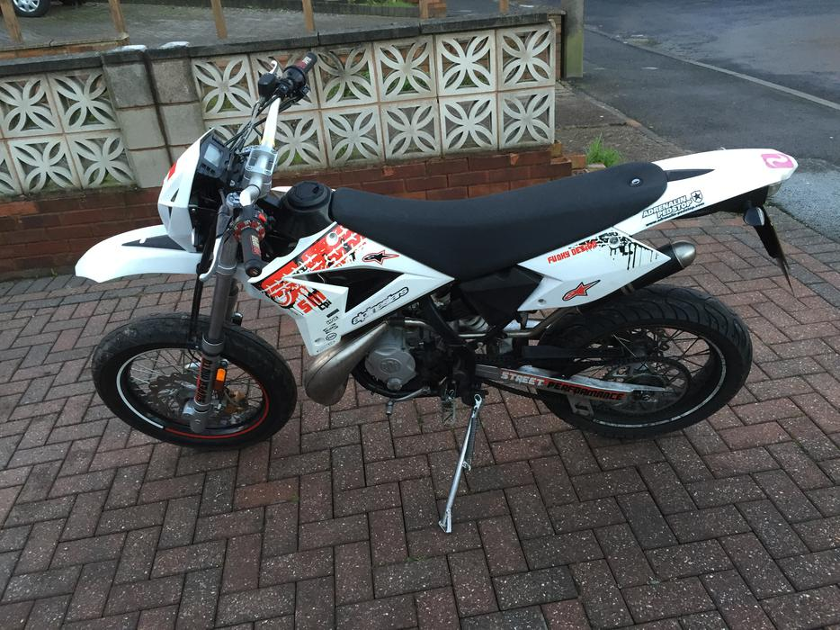 2013 cpi sm 50cc supermoto reduced from 1100 great barr sandwell. Black Bedroom Furniture Sets. Home Design Ideas