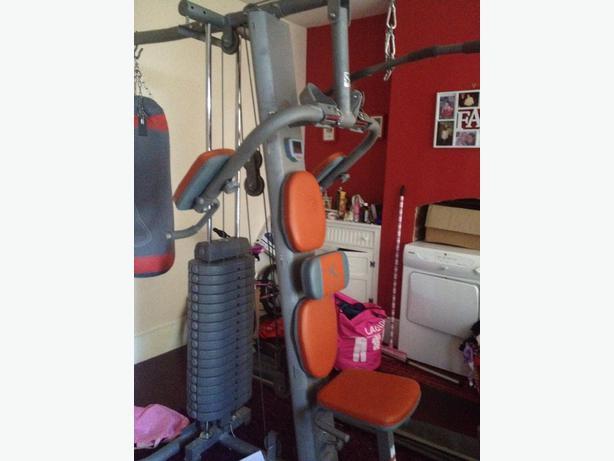 Domyos hg 90 boxe multi gym multigym halesowen sandwell - Banc de musculation hg 60 ...
