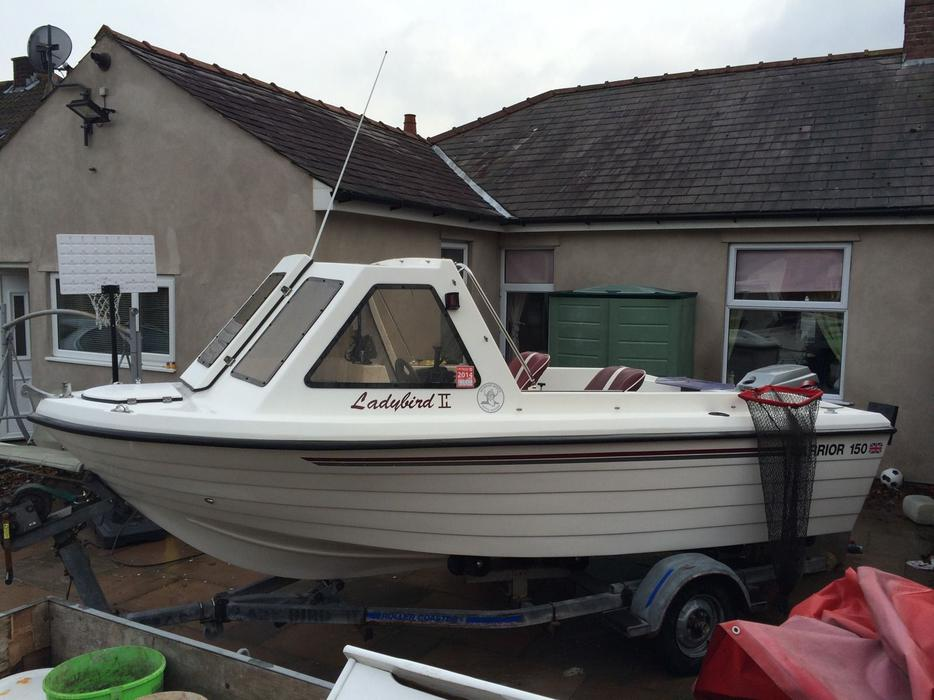 2000 Warrior 150 Fishing Boat Darlaston Wolverhampton